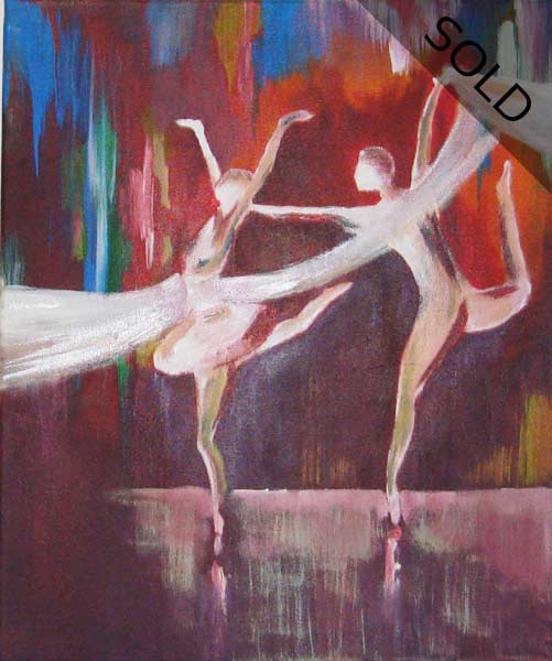 Ballet - Contemporary Art Painting - Florin Coman