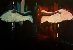 Lucifer - Contemporary Art Painting - Florin Coman