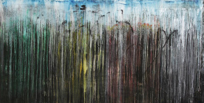 Rain Seasons - Contemporary Art Painting - Florin Coman