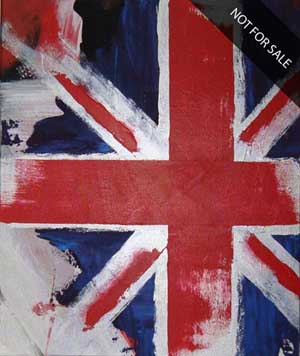 UK Forever - Contemporary Art Painting - Florin Coman